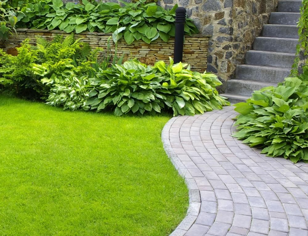 Garten wege zaunarbeiten - Wege im garten ...